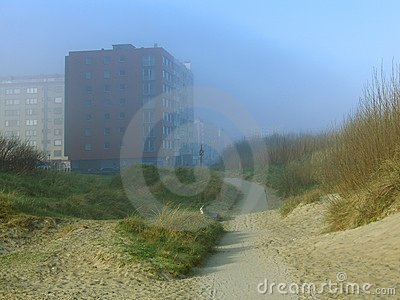 Misty coastal apartments