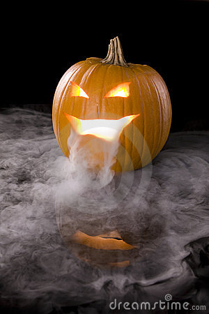 Free Misty Jack-o-Lantern 3 Stock Images - 6921014