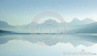 Misty Lake D 8-07