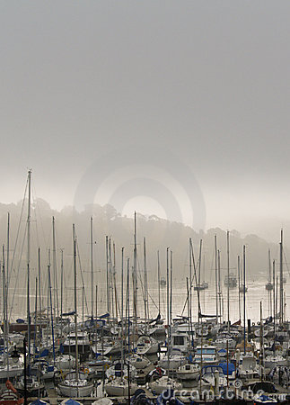 Misty Morning Harbour & Marina, Ireland