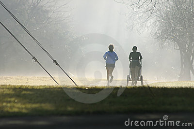 Misty runners