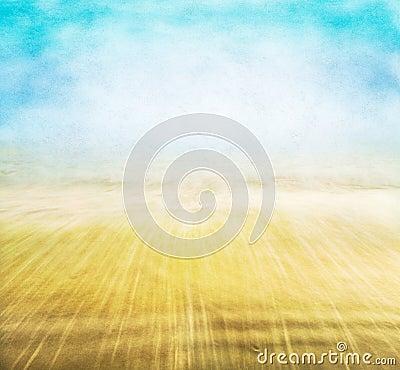 Misty Seascape