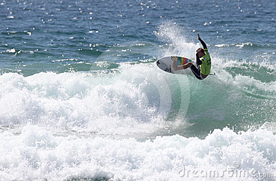 Mitch Crews - Australian Open Manly Beach Editorial Stock Photo