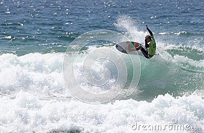 Mitch Crews - Australian Open Manly Beach Editorial Stock Photo