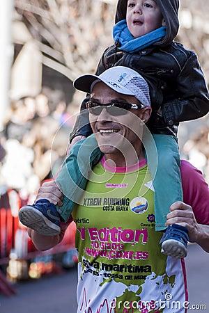 Mitja Marato Granollers Editorial Stock Photo