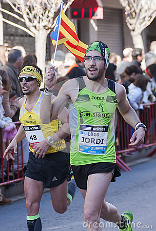 Mitja Marato Granollers Editorial Photo