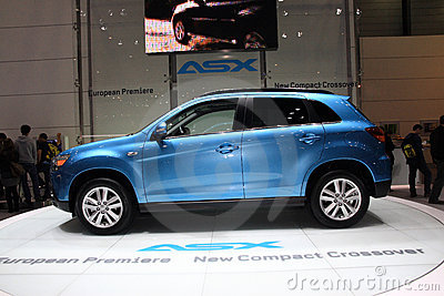 Mitsubishi ASX Editorial Photo