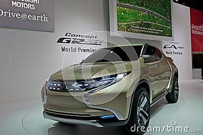 Mitsubishi GR-HEV Editorial Stock Image