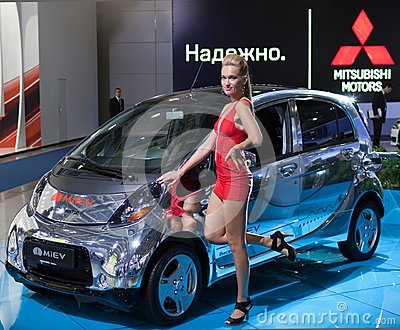 Mitsubishi i-MiEV Editorial Photography