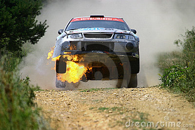 Mitsubishi Lancer blaze Editorial Image