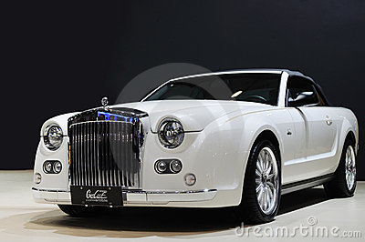 Mitsuoka galue convertible Editorial Photo