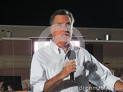 Mitt Romney 21 Editorial Image