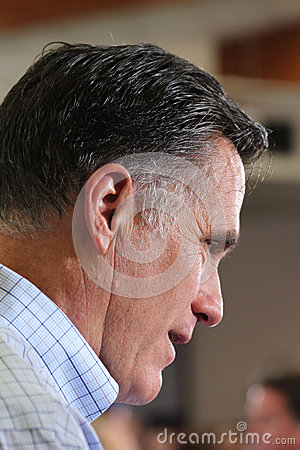 Mitt Romney Editorial Stock Image