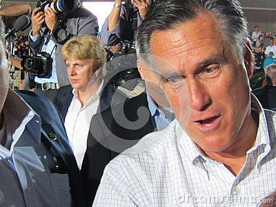 Mitt Romney 38 Editorial Photo