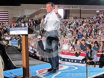 Mitt Romney 4 Editorial Photography