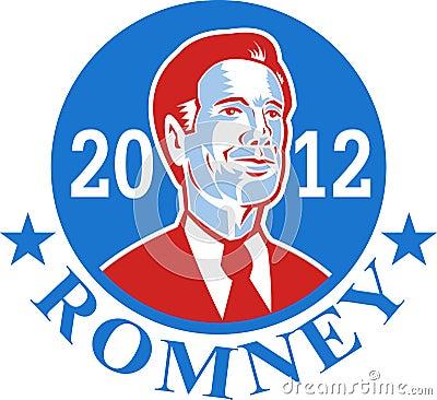 Mitt Romney For American President 2012 Editorial Image