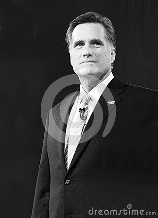 Mitt Romney Republican US Presidential Candidate Editorial Stock Photo