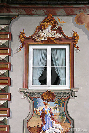 Mittenwald window
