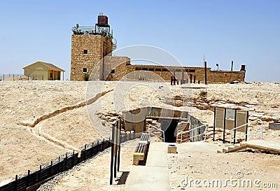 Mitzpe Revivim Museum in the Negev Desert