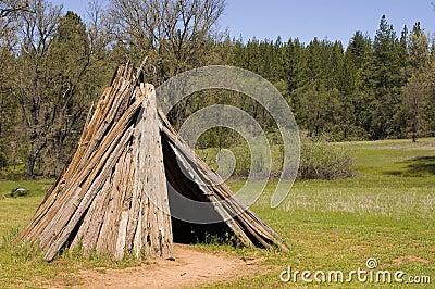 Miwok部落的住宅