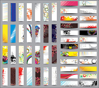 Mix Collection vertical banners