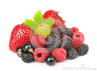 Mix of fresh berry