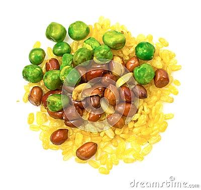 Mix fried beans