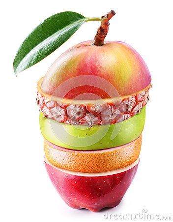 Free Mix Fruit, Laid In Layers Royalty Free Stock Photography - 27756817