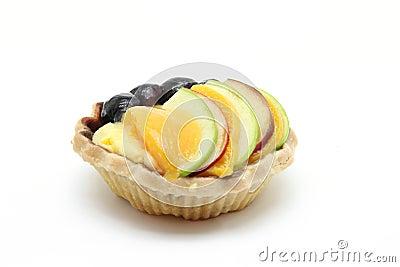 Mix fruit tart