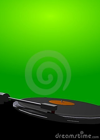 Mix master poster green
