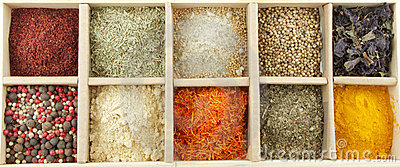 Mix Spicy Spices in box