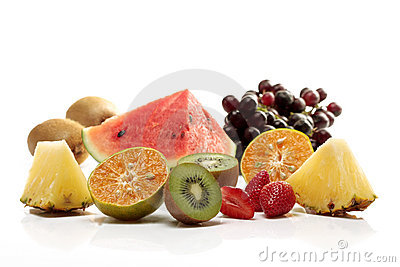 Mix tropical fruit