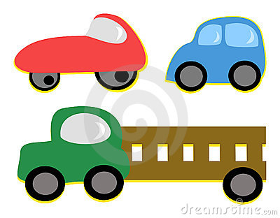 Mix Of Vehicles Royalty Free Stock Photo - Image: 21305455