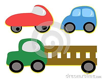 Mix of Vehicles