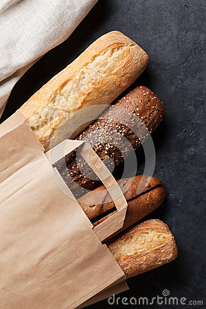 Free Mixed Breads Royalty Free Stock Photo - 70848175