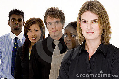 Mixed Business Team