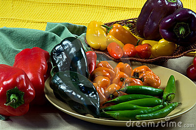 Mixed Chilli Peppers