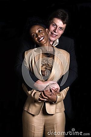 Free Mixed Couple Royalty Free Stock Image - 3581446
