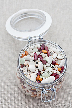 Mixed dried beans