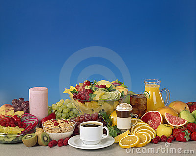 Mixed Fruit and Beverages