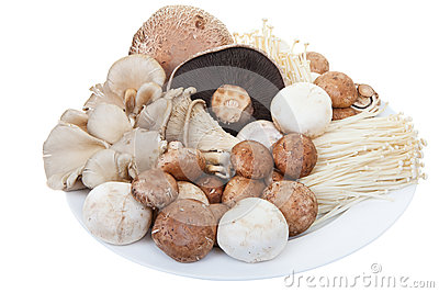 Mixed mushrooms