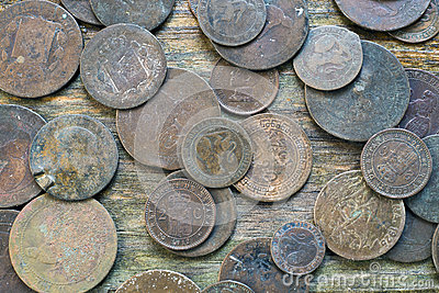 Mixed Old Coins