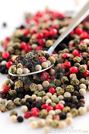 Free Mixed Peppercorns Stock Photo - 4119410
