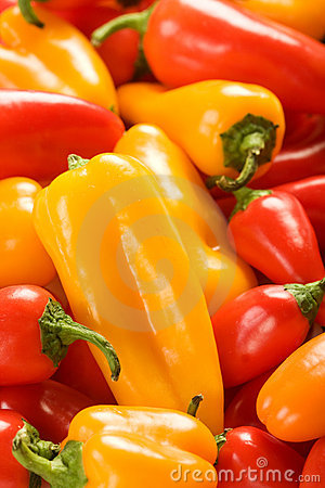 Free Mixed Peppers Stock Photo - 12660340