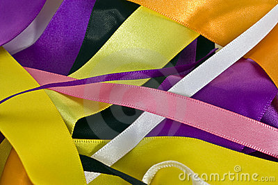 ribbons background