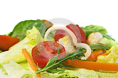 Mixed Salad Close-up Stock Photos - Image: 9973733