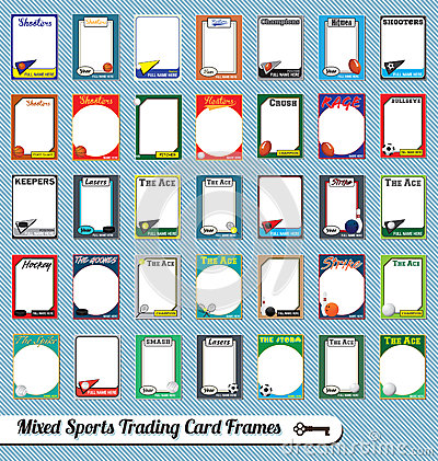 mixed sports trading card picture frames