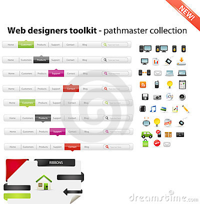 Mixed web graphics