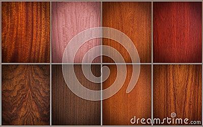 Mixed wood textures