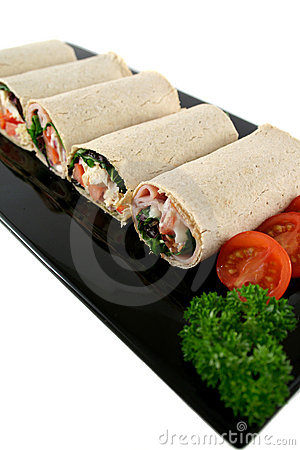 Mixed Wrap Platter 2